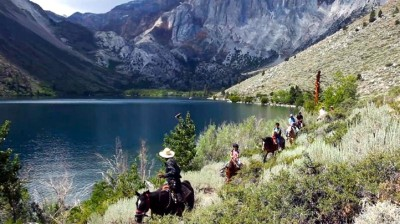 Horseback Riding at Convict Lake