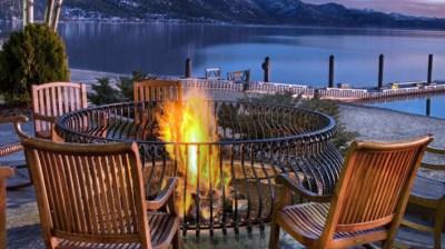Fire Pit Time: Lake Tahoe Cozy
