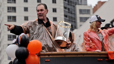 Giants' World Series Trophies Set For Viewing Tour