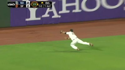 Pagan Catch Starts 8-6-3 Double Play