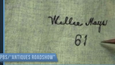 Antiques Roadshow Features Mays Jersey