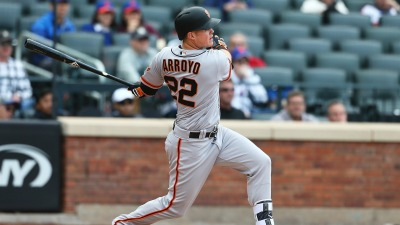 Arroyo Comes Up Clutch, Lifts Giants Past Cardinals