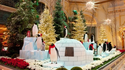 Santas, Penguins, and Neon: Las Vegas Holiday
