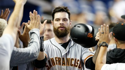 Giants Snap 7-Game Skid by Beating Marlins 3-1