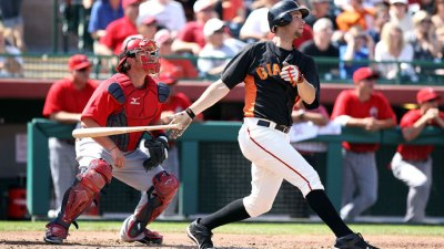 Bochy Hints Belt at First, Huff in Left