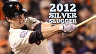 Buster Posey Wins Silver Slugger Award
