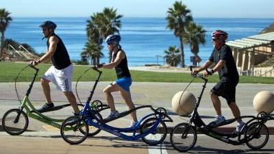 Bikes and Snowcones in Santa Monica