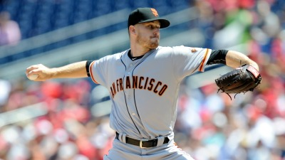 Stratton Strikes Out 10 in Giants' Win Over Nationals