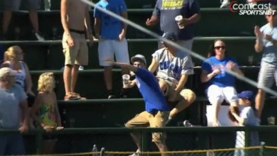 VIDEO: Fan Almost Nails Miggy