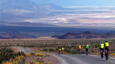 Pedaling Death Valley