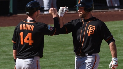 Bumgarner Yields Five Runs in Return to Mound, A's Beat Giants