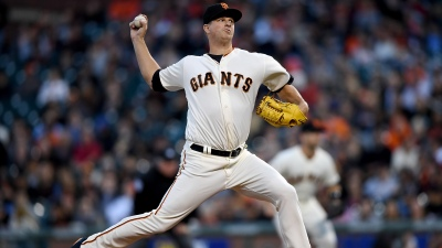 Cain Falls Apart in Fifth vs. D'backs, Giants' Skid Hits Three