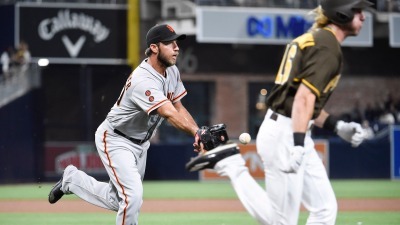Bumgarner Falters in Loss to Padres
