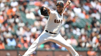 Bruce Homers Late, Giants Drop Series to Reds