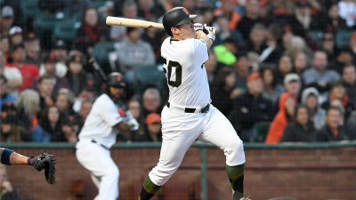 Blach Does it All Against Braves, Giants Snap Skid
