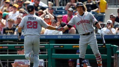 Led by Belt's Bat, Giants Complete Second Sweep in a Row