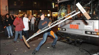 Social Media Helps SFPD Arrest Bus Vandal