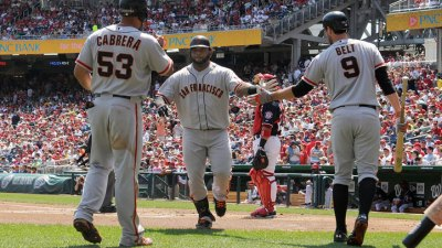 Giants Can Still Hit Without Melky