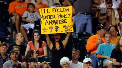 Pence Paid Own Way to Join Giants