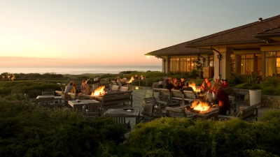 Fire Pit Nice: Romance Package at Pebble Beach