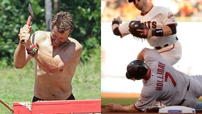 Jeff Kent Blames Scutaro for Slide Injury