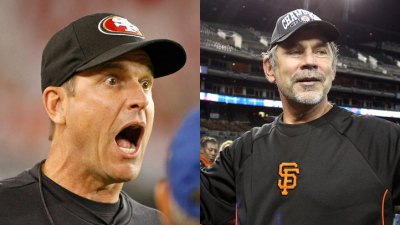 49ers Harbaugh 'Inspired' by Giants