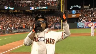 VIDEO: Lil' Wayne Sings 'Take Me Out to the Ballgame'