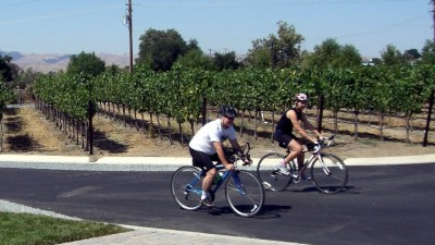 Biking Through Livermore Wine Country