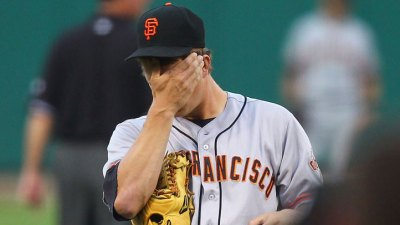 Bochy: Cain Not Hurt, Just 'Human'