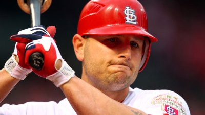 Matt Holliday Out Sunday Night for Cards
