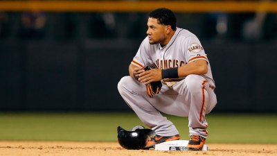 No Postseason Melky for Giants