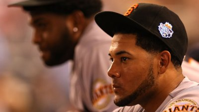 Melky 'Rooting' for Giants in Playoffs