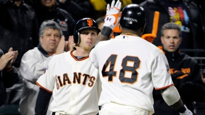 Giants Take Rubber Match From Dodgers 4-3
