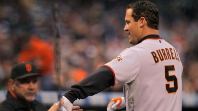 Pat Burrell to the DL, Hector Sanchez Called Up