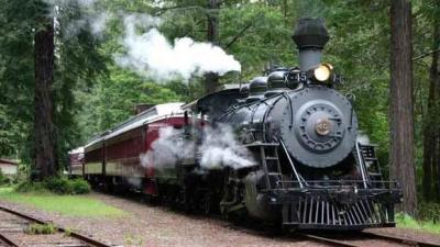 Photographer's Special: The Skunk Train