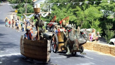 Nevada City Adult Soapbox Derby
