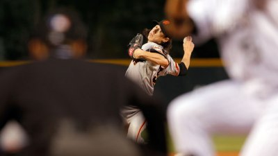 Giants Magic No. 7; Tim's ERA Under 5
