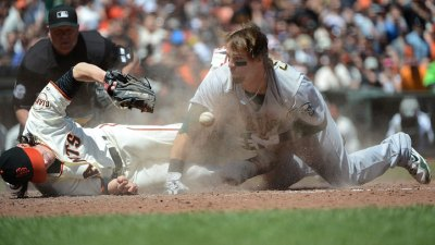 Lincecum Got Run Over by a Cowgill