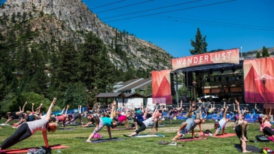Mats 'n Mountains Merge at Wanderlust Festival