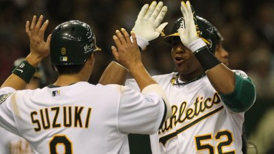 A's Top M's 4-1 in Japan Finale