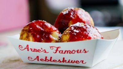 Solvang Sweet: Æbleskiver-Eating Contest