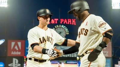Offense, Cain Power Giants Past Dodgers