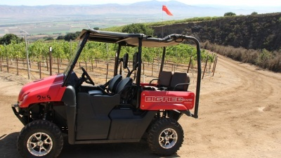 Monterey County Adventure: ATVing in a Vineyard