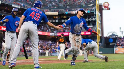 Moore Rocked, Giants Miss Chances in Loss to Cubs