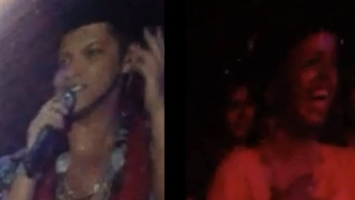 Bruno Mars Gets Rejected On Stage in Oakland