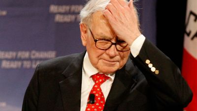 Warren Buffett Warns of Bubble
