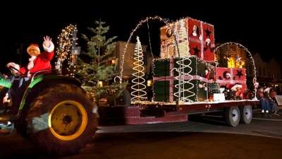 Tractors to Twinkle in Calistoga