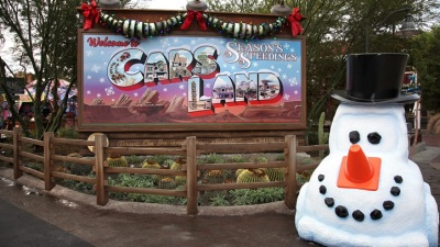 Sleigh Bells and Roller Coasters: Disneyland Holidays