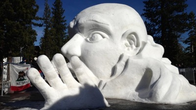 Cold and Colossal Sculptures: Carve Tahoe