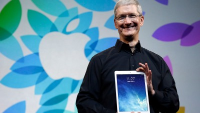 Tim Cook: Climate Change Skeptics Should Sell Apple